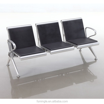 Incroyable PU Foam Padding Office Bench Seating For Terminal Seats Of Public Waiting  Area