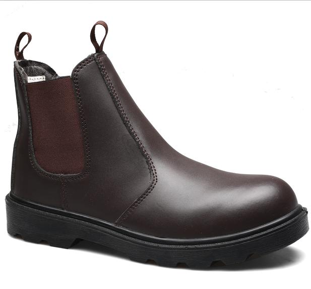Tidak Ada Renda Sepatu Kerja Sepatu Tahan Air Steel Toe Tahan Minyak dengan Harga Murah Harga Sepatu Safety