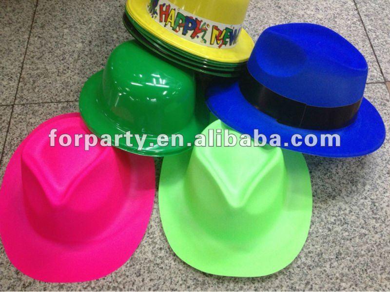 6977c0c9f8ea6 Cgh-1026 Plástico Sombrero De Vaquero Sombrero Plástico Barato De - Buy Plástico  Sombrero De Vaquero