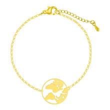 Женский браслет Cxwind, браслет из нержавеющей стали с геометрическим шармом, в виде горного сердца с бесконечностью(Китай)