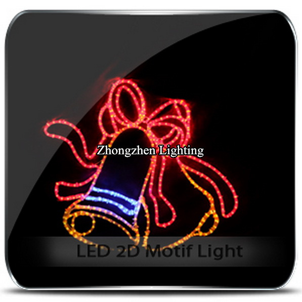 China rope light motif lights wholesale alibaba 2d commercial holiday time christmas event decoration double bell motif rope light aloadofball Gallery