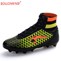 2016 New arrival men soccer shoes high quality men football shoes brand designer men football boots