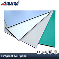 Alusign attractive discount indoor decorative aluminum wall cladding for ceiling decoration aluminum composite panel