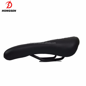 HS-S128A Bicycle parts Dual-track Cushion Bike Saddle from HONGSEN