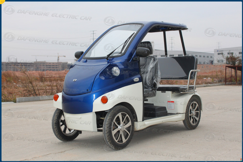 Factory Price Dfh Tm03 3 Seaters Mini Electric Car View Mini