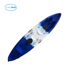 Attractive excellent quality snap on top dual inflatable kayak