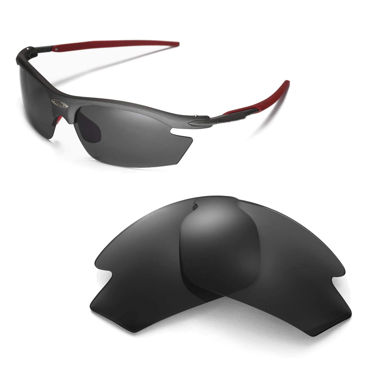 31f43b22d3 Get Quotations · Walleva Replacement Lenses for Rudy Project Rydon  Sunglasses - 16 Options Available