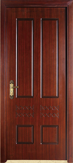 Prehung Entry Door Mahogany Ring Lite Complete Frame Solid
