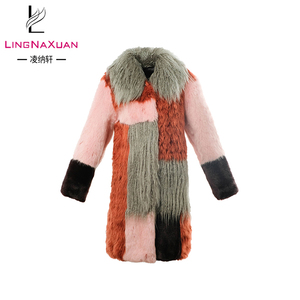 latest high quality fashion winter design custom print coat for women