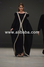 DUBAI RẤT FANCY KAFTANS abaya jalabiya Ladies Maxi Dress Wedding gown bông tai k7009