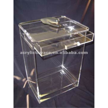Clear Acrylic Cube Side Table With Drawer Buy Clear Acrylic - Acrylic cube side table