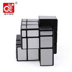 Brain training mirror color 54.5mm 2X2 plastic puzzle gold cube from qiyi