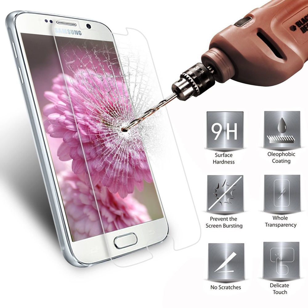 2fb566a8ec9 Get Quotations · 9H 2.5D Real Premium Tempered Glass Film Screen Protector  Case for Samsung Galaxy Multi-