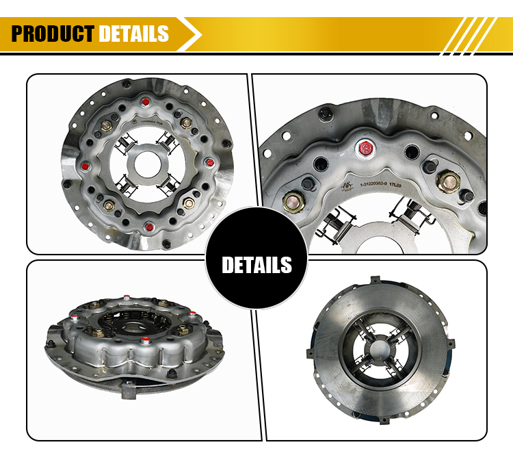 Auto Parts function clutch cover 380* 1-31220382-1 for ISUZU, View function  clutch cover, ISUZU Product Details from Guangzhou Jupeng Trade Co , Ltd