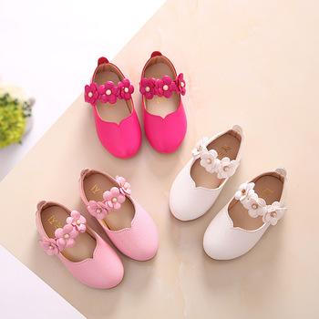 White Pink Kids Toddler Flower Children