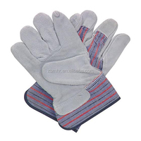 Brand MHR Cow split leather fleece lining winter glove