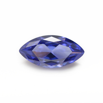 Marquise Shape Tanzanite Color Loose CZ Gemstone