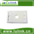 Wholesale Price Top Quality 86 Type Network Faceplate 1/2/3/4 Port Faceplate