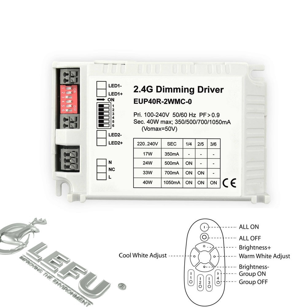 2.4g New Multi-current Led Dimming Driver