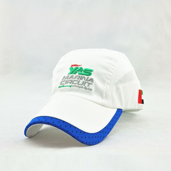 Custom Polyester Dry Fit Mesh Running Hat Outdoor Summer Hiking Golf Cap  With Binding 5abbda0e235