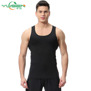 Men's stretch pro fitness vest training running fancy sports sexy vest for men