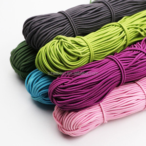 elastic cord elastic string elastic band for clothing/packing
