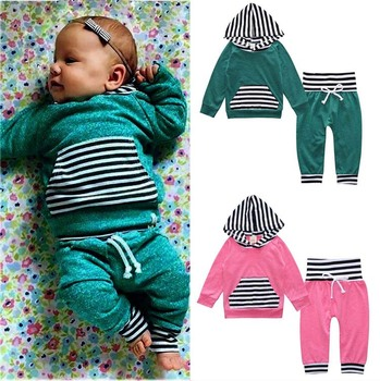 6aab6522ab9c2 best selling online hot clothes sets romper and pant newborn baby boys fall outfits  baby clothes