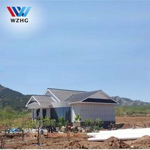 China Beautiful Durable And Stable Steel Frame Prefabricated House