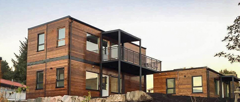 Prefab wooden house with modular house modular apartment