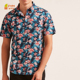 floral digital printing 100 percent cotton 2017 latest shirts for men pictures