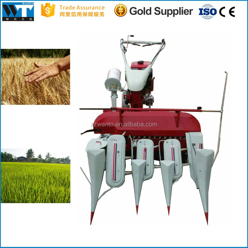 Wheat Self-binder Harvester Paddy Rice Reaper Binder