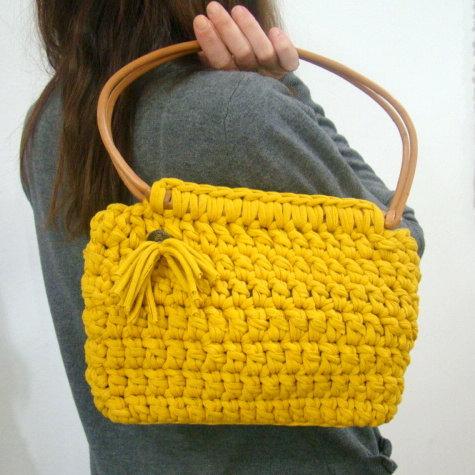 T Shirt Yarn Basket Hand Knit Yarn Hand Knitting