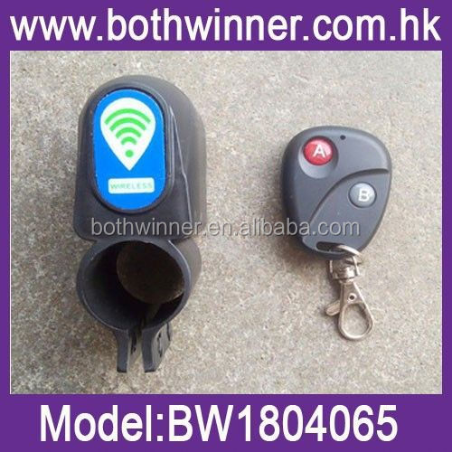 Bike accessory Wireless Bicycle Code Alarm With Patent