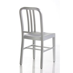 Foshan Furniture Factory Brushed Anodized Restaurant Dinner Chairs