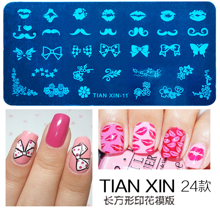 Plates Stamping Nail Art, Plates Stamping Nail Art Suppliers and ...