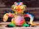 OEM plastic toy Kaiju BLObPUS One off sofubi japanese made for kids