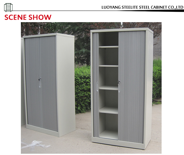 China Supplier Plastic Roller Shutter Door Cabinet / Office Steel ...