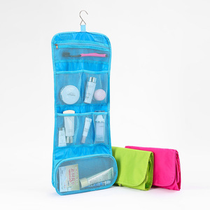 Hot sale fashion design waterproof fold travel laundry bag 600D oxford fabric travel pouch