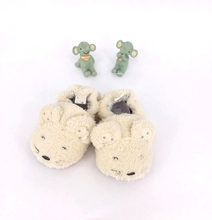 Animal shape soft insole newborn baby shoes