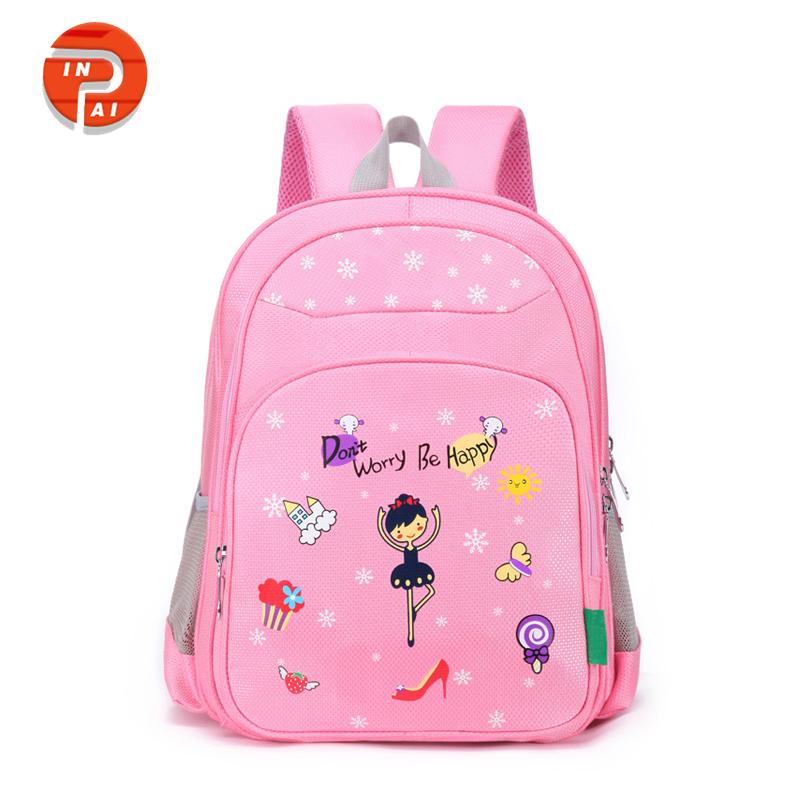 Girls Lovely Pink Kids School Bag 72b5a848a453d