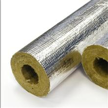 rock wool pipe thermal insulation for solar water heater pipes