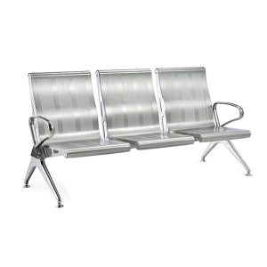 Wholesale High Quality Waiting Room Furniture Commercial Bench Seating Stainless Steel Link Waiting Chair