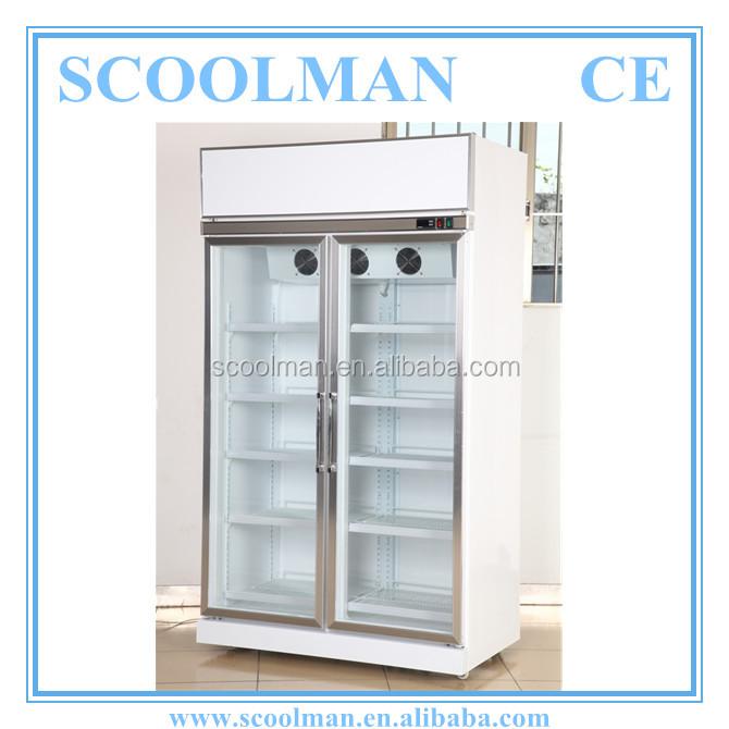 Commercial Use Double Door Refrigerator Dimensions   Buy Double Door  Refrigerator Dimensions Product On Alibaba.com