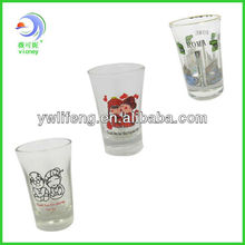 Hot sales high quantity glass tea cup factory direct sales