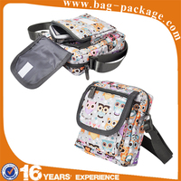 Unisex custom fashion pattern design beauty sport bag and travel bag