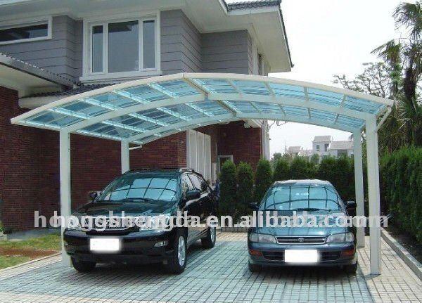 Estructura de acero prefabricada mobile light cochera - Toldos para cocheras ...
