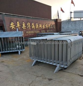 Concrete temporary fence new product launch in china road barrier welded temporary fence