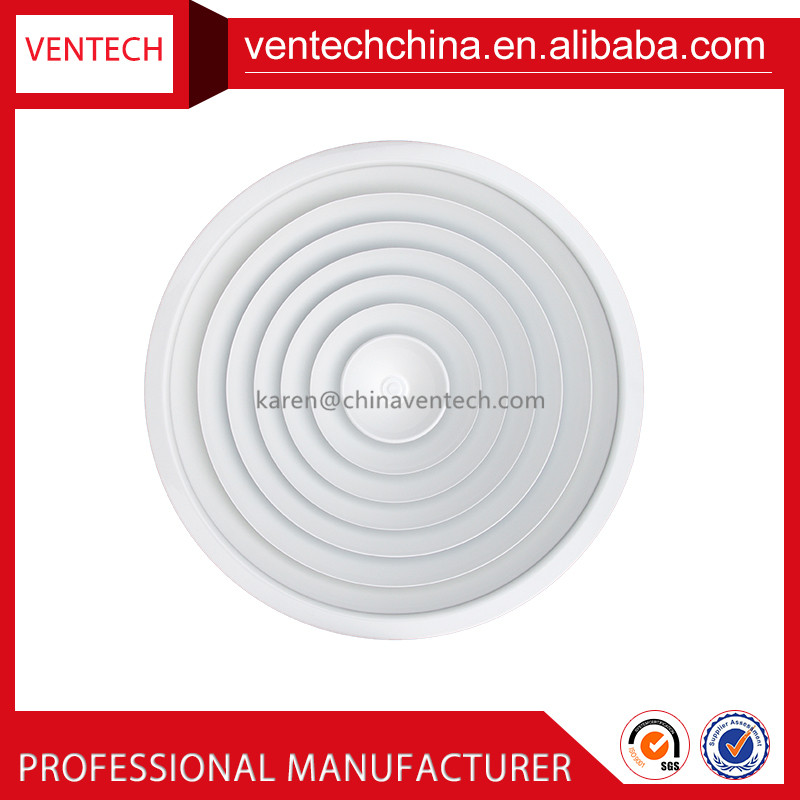 Air conditioning parts ventilator air vent cover round ceiling diffuser vent covers