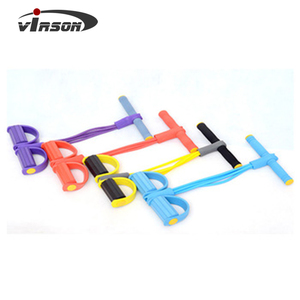 VIRSON Abdominal Elastic Sit Up Pull Rope stretch cord Exercise Band