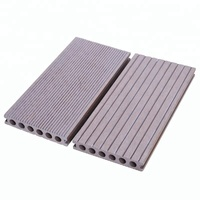 concrete covering outdoor waterproof wood plastic wpc decking floor